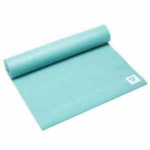DoYourYoga Anti-slip ECO PVC Yogamat - Annapurna Comfort - goede grip, is duurzaam en slijtvast - 183 x 61 x 0,5 cm - turquoise