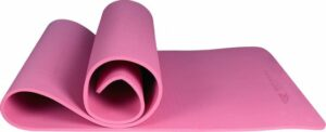 Yoga mat - Fitness mat - Sport mat - Yoga mat anti slip - Yoga mat dik - Yoga mat roze - Eco friendly